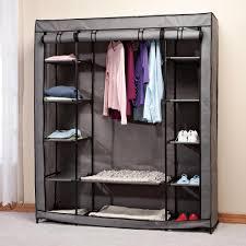 amazon com clothing wardrobe with shelves xl kitchen u0026 dining