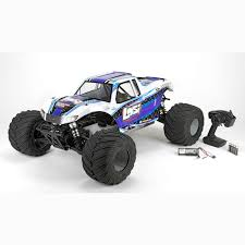 losi 1 5 monster truck xl mtxl 4wd rtr with avc white