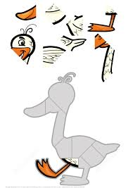 funny duck jigsaw puzzle free printable puzzle games