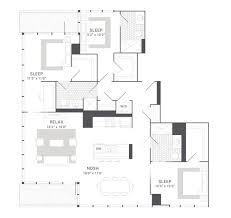 next level luxury the best penthouse level floorplans for rent in