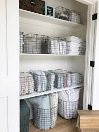 simply done the most beautiful linen closet linens
