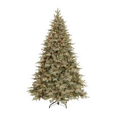 national tree company 7 5 ft frosted arctic spruce artificial