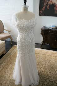 ivory lace wedding dress elie saab inspired applique lace