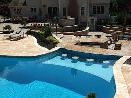 Backyard Pool Landscaping by Triyae Com U003d Luxury Backyard Pool Designs Various Design