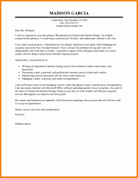 covering letter receptionist samples cover letter for