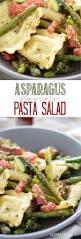 asparagus ravioli pasta salad or cold eazy peazy mealz