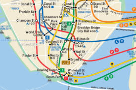 Manhattan Street Map This New Nyc Subway Map Shows The Second Avenue Line So It Has To