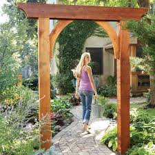 wedding arbor kits build a garden arch garden arches walkways and pergolas