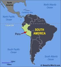 map of peru south america my