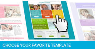email newsletter template free sample template design