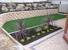 Concrete Block Garden Wall by All Retaining Walls Adelaide South Australia Retaining Walls