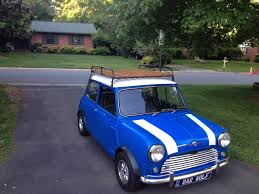Mini Cooper Info My New Roof Rack For My Classic Mini Info In Comments