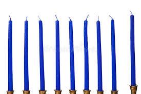 menorah candles hanukkah menorah candles isolated royalty free stock image image