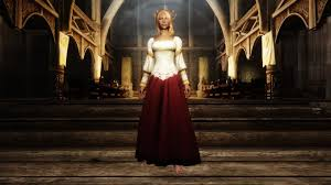 skyrim mod noble wedding dress