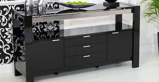 Black Gloss Sideboards Cheap Sideboards And Cabinets Dark Pine Walnut Oak Wood Sideboard