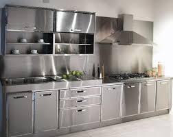 Stainless Steel Kitchen Cabinets  SL Interior Design - Kitchen cabinets steel