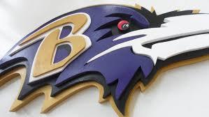 large custom 3d baltimore ravens football sign logo wooden plaque