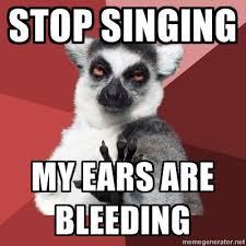 My Ears Are Bleeding Meme - blunt lemur
