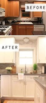 painting oak cabinets white before and after pin by yuliaman aden rais on pinterest paintings kitchens