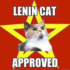 Approved Meme - lenin cat approved cat meme cat planet cat planet