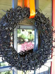 the third diy spooky creepy halloween bug wreath