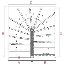 platzbedarf treppe planungstipps www baveg de individuelle treppen lösungen