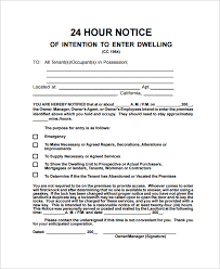 sample notice letter 21 documents in pdf word