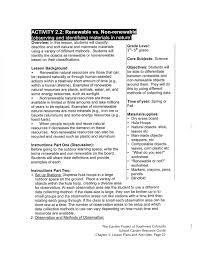 colorado garden lesson plan b2 renewable vs non renewable re u2026