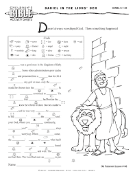bible worksheets children u0027s bible activities older age