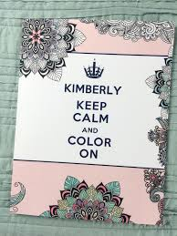 personalized coloring book caddy free personalized coloring