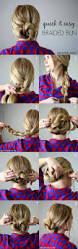 best 10 easy bun hairstyles ideas on pinterest bun hairstyles