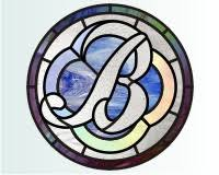 alphabet script b script alphabet stained glass pattern letter b