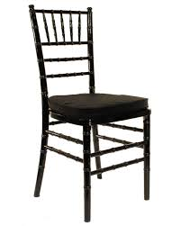 chiavari chair rentals chiavari black black or ivory pads included platinum event rentals