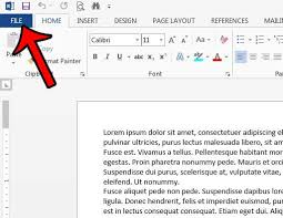 how to print document properties by default in word 2013 solve