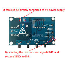 cycle shell 1 channel relay led module on off trigger delay cycle timing xy