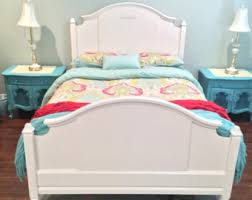 Shabby Chic Twin Bed by Bed Twin Dresser French Provincial Country French Shabby Chic
