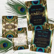 Peacock Wedding Programs Peacock Wedding Invitations U2013 Gangcraft Net