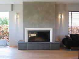 cheminee moderne design salon cheminée moderne de la couleur pour une nouvelle pièce à