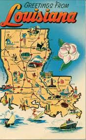 Louisiana State Map by Best 25 Map Of Louisiana Ideas On Pinterest French Quarter Map