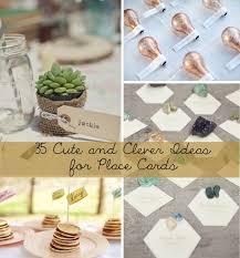 top 25 creative wedding adorable wedding place card ideas