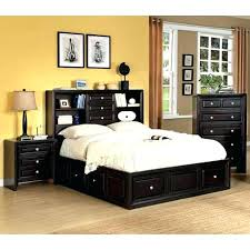 bookcase king bedroom set with bookcase headboard bedroom