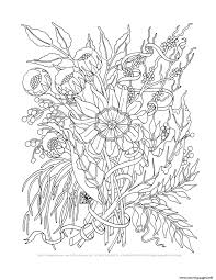 trend elegant flowers coloring pages coloring pages printable