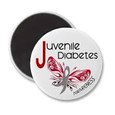 juvenile diabetes butterfly 3 magnet diabetes