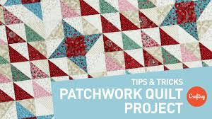 patchwork quilt project points every time craftsy