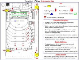 Map Sports Facility Building Information Environmental Health And Safety