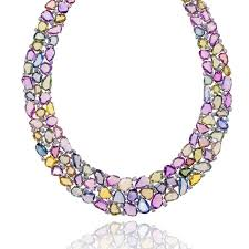 multi colored necklace images Multi color sapphire necklace mccaskill company destin fl jpg