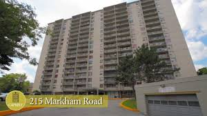 scarborough apartments for rent video 215 markham road youtube