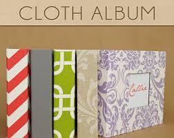 cloth photo album cloth baby album etsy
