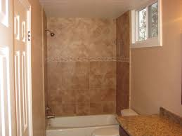 brown flat rock bath tub wall tile modern bathroom by design for