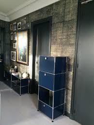 Zeitlose Esszimmerst Le Usm Haller And Wall Parper Papier Peint Batik Black Door Le